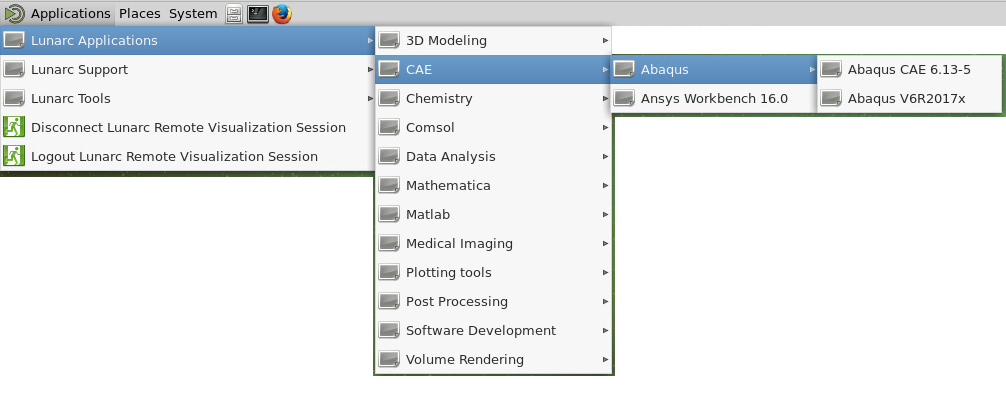 ABAQUS on the cluster - LUNARC Documentation